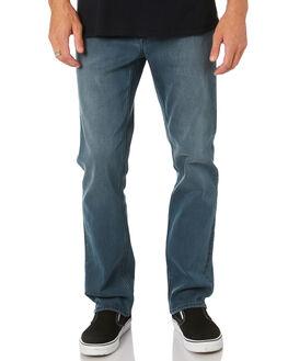 SLATE INDIGO GREY MENS CLOTHING VOLCOM JEANS - A1931503SIG