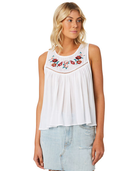 WHITE WOMENS CLOTHING SWELL FASHION TOPS - S8184197WHITE