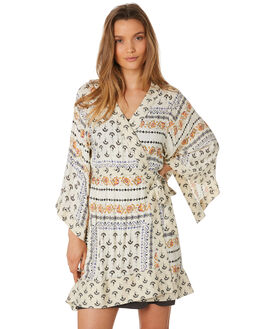 IVORY WOMENS CLOTHING TIGERLILY DRESSES - T393417IVO
