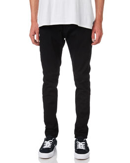 BLACK MIRROR MENS CLOTHING A.BRAND JEANS - 810161324