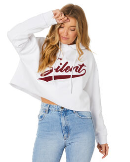 WHITE WOMENS CLOTHING SILENT THEORY JUMPERS - 6053021WHT