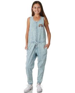 ACID BLUE KIDS GIRLS MUNSTER KIDS DRESSES + PLAYSUITS - MM181JS03BLU