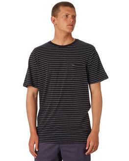 BLACK MENS CLOTHING VOLCOM TEES - A01118R0BLK