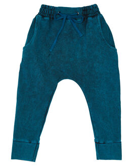TEAL KIDS BOYS CHILDREN OF THE TRIBE PANTS - BBPT0342TEA
