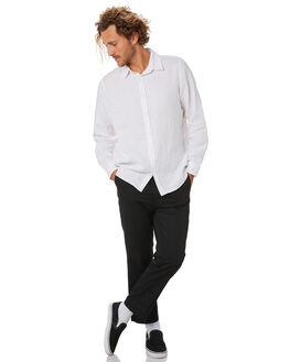 WHITE MENS CLOTHING MR SIMPLE SHIRTS - M-05-36-03WHI
