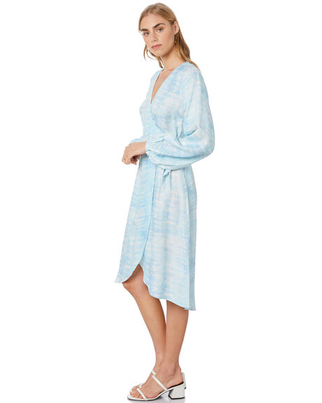 BLUE OUTLET WOMENS TIGERLILY DRESSES - T305466BLU