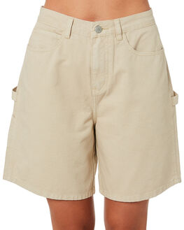 KHAKI WOMENS CLOTHING ZULU AND ZEPHYR SHORTS - ZZ2825KHAK