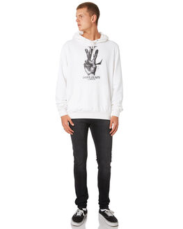 WHITE MENS CLOTHING THE PEOPLE VS JUMPERS - AW19030WHT