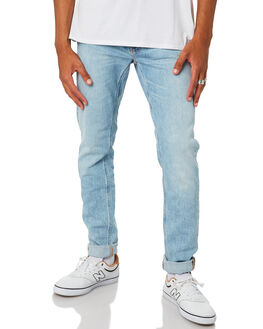 LIGHT STONE COMFORT MENS CLOTHING NUDIE JEANS CO JEANS - 113295LISTN
