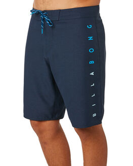 NAVY HEATHER MENS CLOTHING BILLABONG BOARDSHORTS - 9581411NVYH