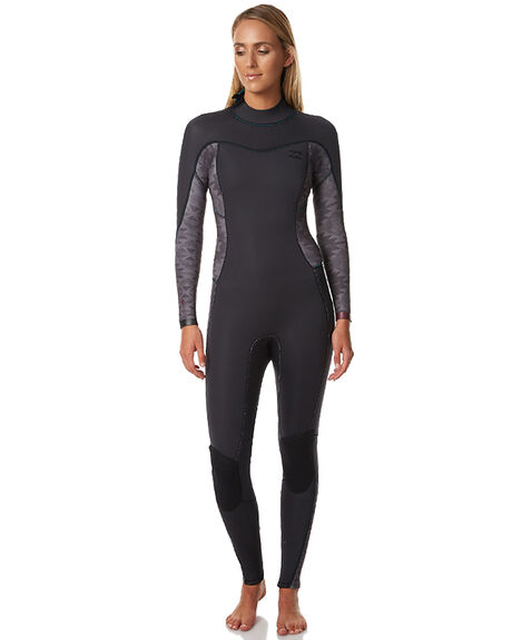 BLACK SURF WETSUITS BILLABONG STEAMERS - 6773700BLK