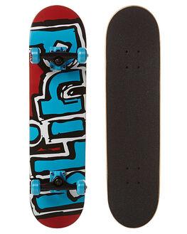 RED BLUE SKATE COMPLETES BLIND  - 10511195REDBL