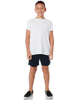 NAVY KIDS BOYS ACADEMY BRAND SHORTS - B20S602NVY