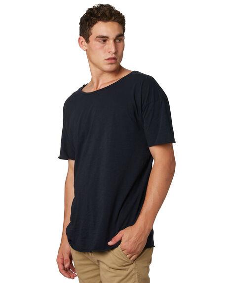 NAVY MENS CLOTHING NUDIE JEANS CO TEES - 131484B25NVY