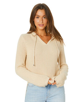 NATURAL WOMENS CLOTHING SWELL KNITS + CARDIGANS - S8182151NATRL