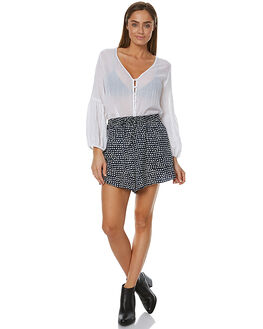 PAINTED POLKA DOT WOMENS CLOTHING THE FIFTH LABEL SHORTS - TX170533P-PRT2PRNT