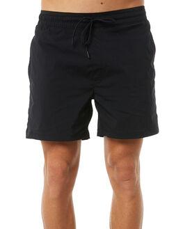 BLACK MENS CLOTHING ZANEROBE SHORTS - 607-PREBLK