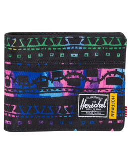 ZIG ZAG BLUE MENS ACCESSORIES HERSCHEL SUPPLY CO WALLETS - 10363-01947-OSZIG
