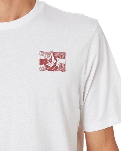 WHITE MENS CLOTHING VOLCOM TEES - A5001958WHT