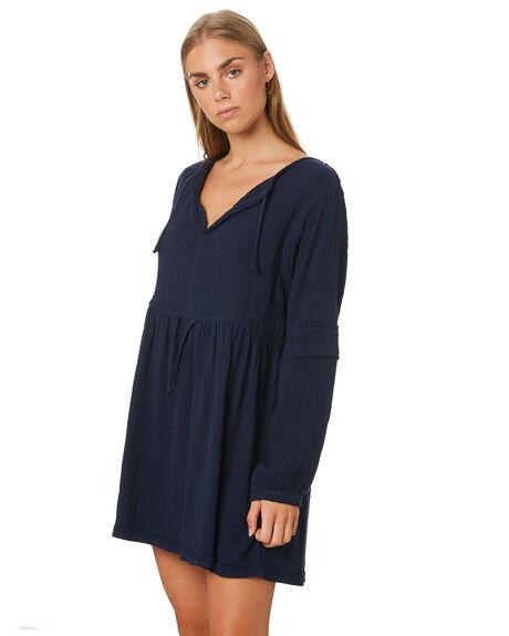 NAVY WOMENS CLOTHING ELWOOD DRESSES - W02701NAVY