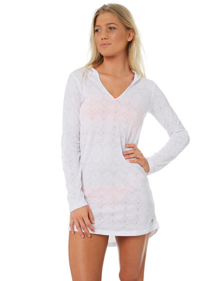 WHITE OUTLET WOMENS RIP CURL FASHION TOPS - GTEWL11000