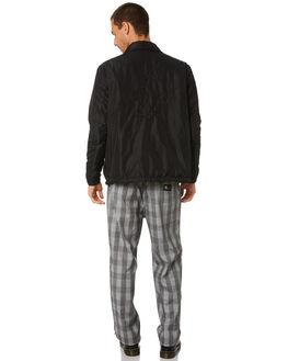 BLACK MENS CLOTHING MISFIT JACKETS - MT005502BLK