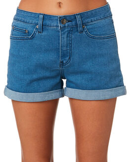BLUE WOMENS CLOTHING RIP CURL SHORTS - GWACW10070