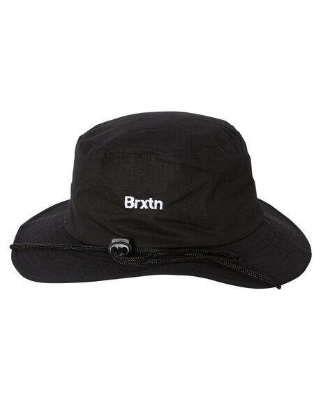 BLACK MENS ACCESSORIES BRIXTON HEADWEAR - 10579BLACK