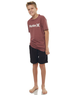 BLACK KIDS BOYS RUSTY SHORTS - WKB0268BLK