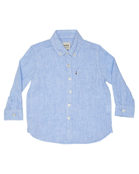 CHAMBRAY KIDS BOYS ROOKIE BY THE ACADEMY BRAND TOPS - DJR19S840CHAM