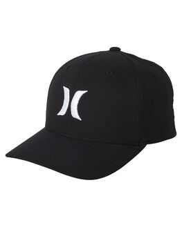 BLACK WHITE MENS ACCESSORIES HURLEY HEADWEAR - 892025027