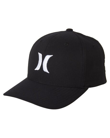 save off 8fd77 cee85 BLACK WHITE MENS ACCESSORIES HURLEY HEADWEAR - 892025027