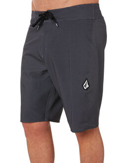 BLACK MENS CLOTHING VOLCOM BOARDSHORTS - A0801900BLK