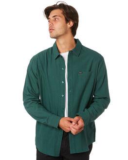 EMERALD MENS CLOTHING BRIXTON SHIRTS - 01102EMRLD
