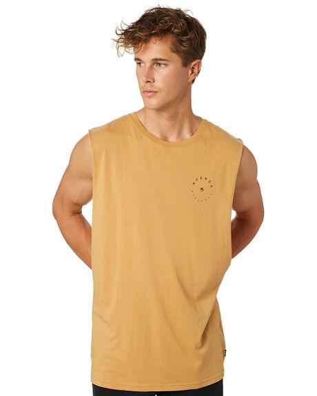 OAK MENS CLOTHING AFENDS SINGLETS - M184089OAK