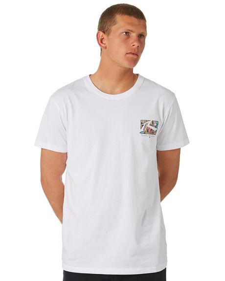 WHITE MENS CLOTHING RUSTY TEES - TTM2030WHT
