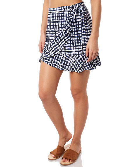 INDIGO WOMENS CLOTHING TIGERLILY SKIRTS - T381276IND