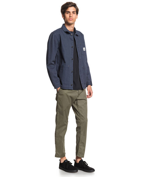 BLUE NIGHTS MENS CLOTHING QUIKSILVER JACKETS - EQYJK03548-BST0
