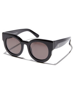 GLOSS BLACK MENS ACCESSORIES VALLEY SUNGLASSES - S0040GLBLK