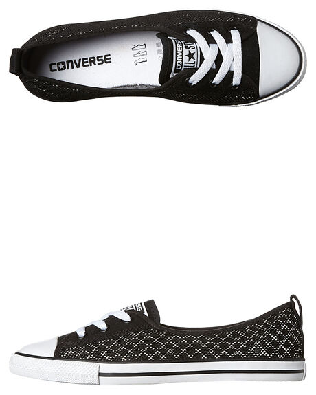 17491c7b0ee Converse Womens Chuck Taylor All Star Ballet Lace Breathable Shoe ...
