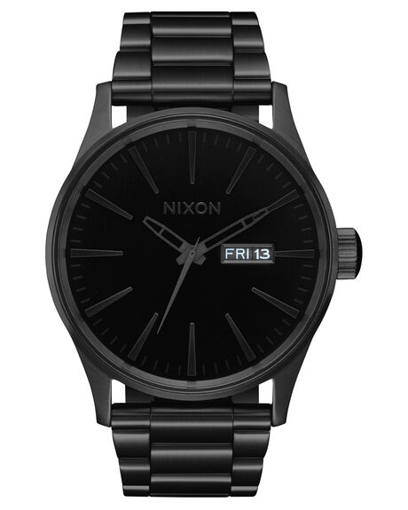 ALL BLACK BLACK MENS ACCESSORIES NIXON WATCHES - A3561147