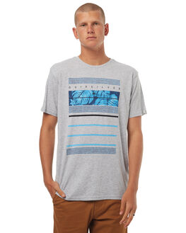 ATHLETIC HEATHER MENS CLOTHING QUIKSILVER TEES - EQYZT04505SGRH