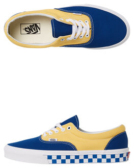 TRUE BLUE YELLOW MENS FOOTWEAR VANS SNEAKERS - VNA38FRU8IYEL