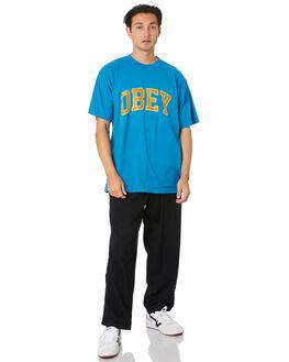 SPIRIT BLUE MENS CLOTHING OBEY TEES - 166912179SPB