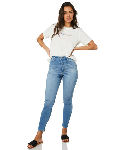 LENNON BLUE WOMENS CLOTHING RIDERS BY LEE JEANS - R-551438-FL8
