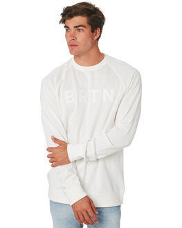 STOUT WHITE MENS CLOTHING BURTON JUMPERS - 137171100