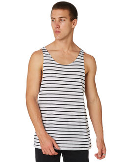 WHITE OUTLET MENS SWELL SINGLETS - S5182277WHITE