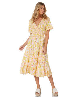 IVORY WOMENS CLOTHING FREE PEOPLE DRESSES - OB10787251103