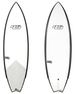 WHITE BLACK BOARDSPORTS SURF HAYDENSHAPES PERFORMANCE - HSUNTITLEDFFWHTBK