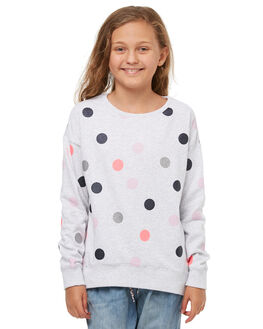 GREY MARLE KIDS GIRLS EVES SISTER JUMPERS - 9910006GRM